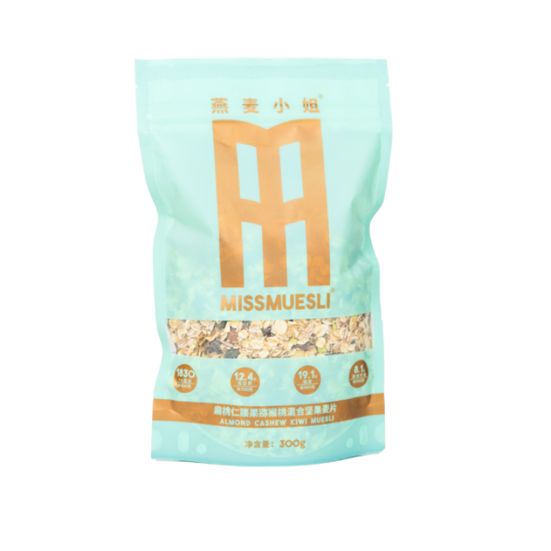 1袋装(扁桃仁腰果猕猴桃水果燕麦片)