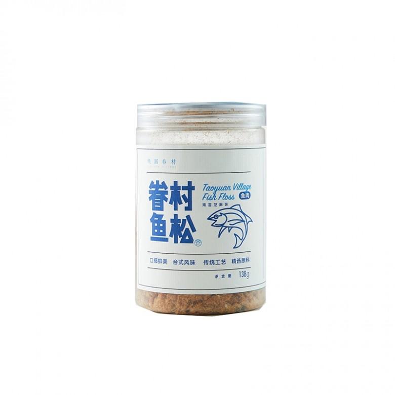 海苔芝麻味鱼松*2