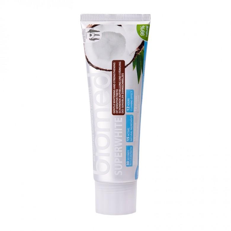 安全美白植物牙膏