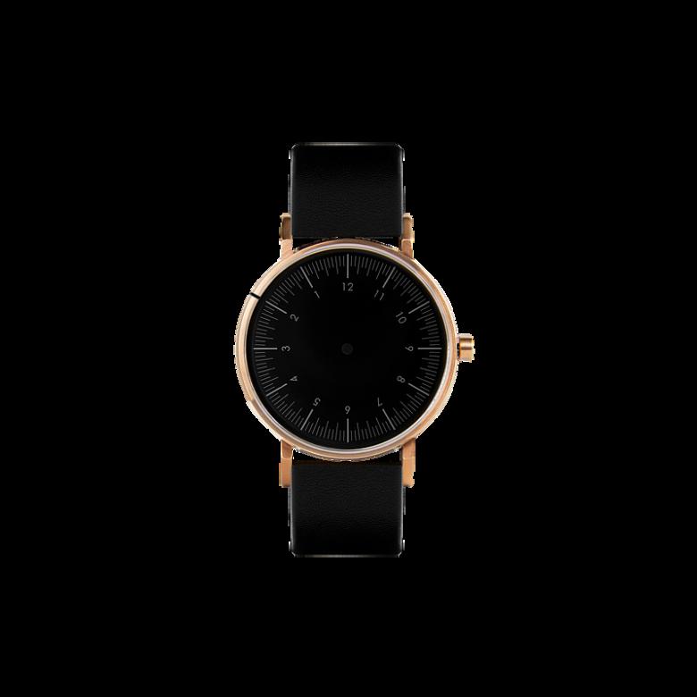 Nova Black金表壳|黑表盘|黑色表带