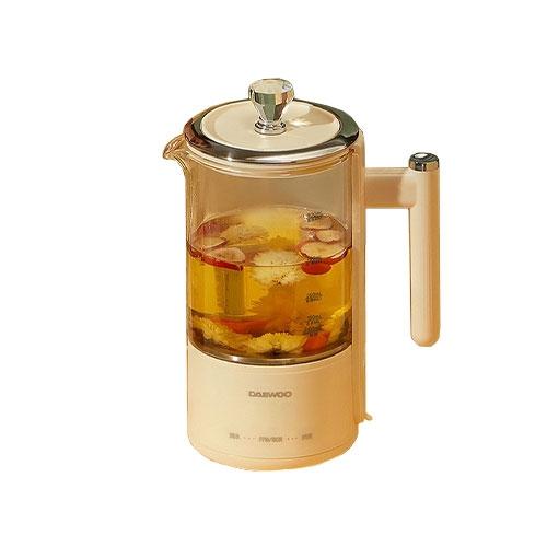 韩国DAEWOO·大宇YS02办公室小型全自动多功能玻璃一体煮茶器花茶壶私享壶