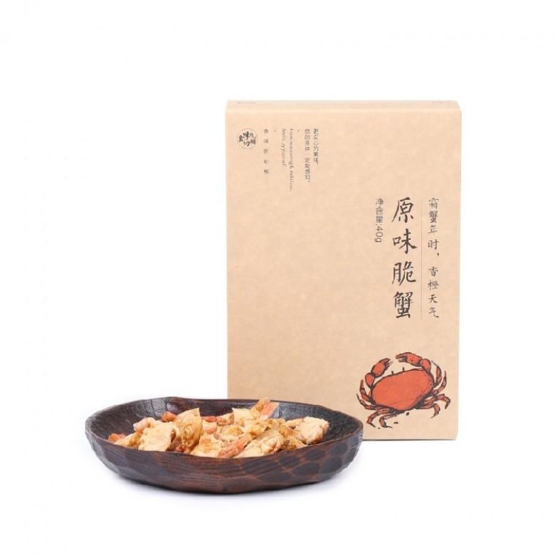 原味脆蟹 40g*1