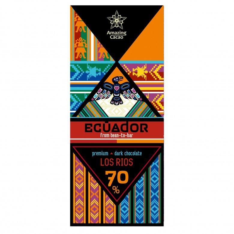 厄瓜多尔Los Rios 70%可可含量