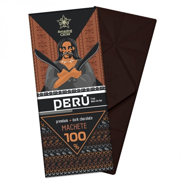 秘鲁Machete 100% 可可含量
