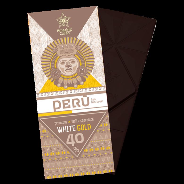 秘鲁White Gold 40%可可含量