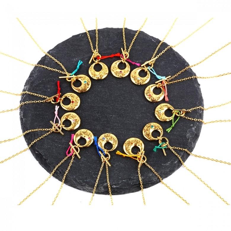 ONCHIC·925纯银十二星座许愿结项链·12款选