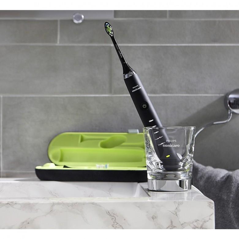 荷兰PHILIPS · HX9352魅力黑钻声波震动电动牙刷
