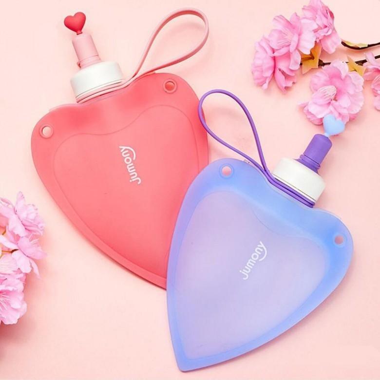 韩国sillymann·爱心水袋·2色选