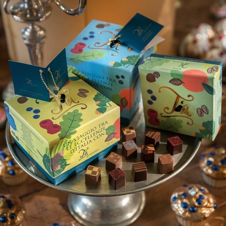意大利T'a Milano·巧克力集珍单层礼盒