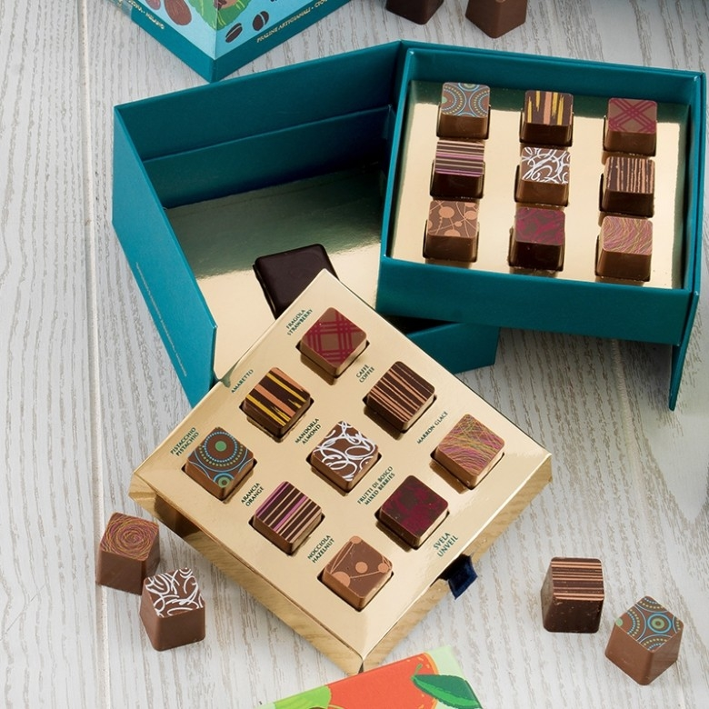 意大利T'a Milano·巧克力集珍双层礼盒