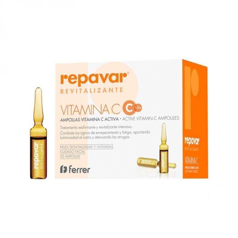 西班牙repavar·20只装芮芙菈活性维C抛光安瓶
