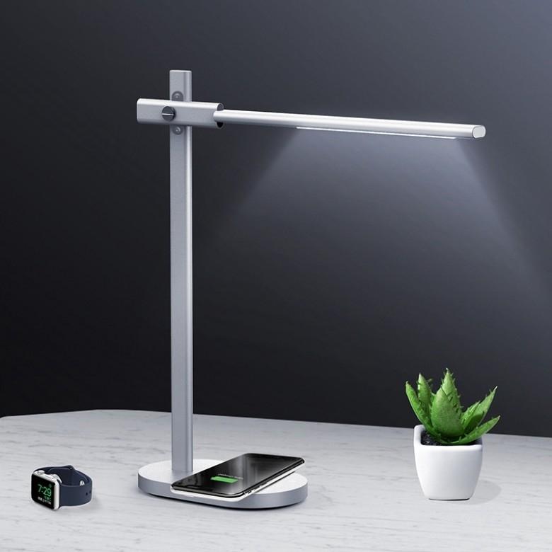 MOMAX·Q.LED苹果无线充电护眼智能台灯
