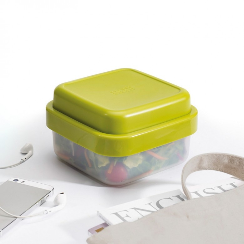 英国joseph joseph·随行便当盒正方形绿色