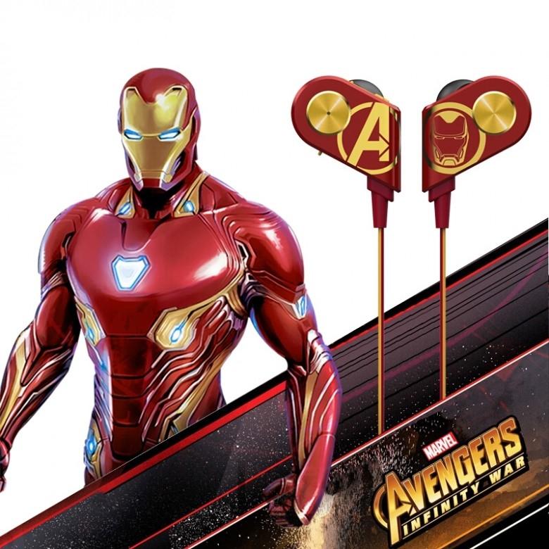 酷我 ·  k1漫威钢铁侠美国队长版无线蓝牙运动耳机 · 2色选