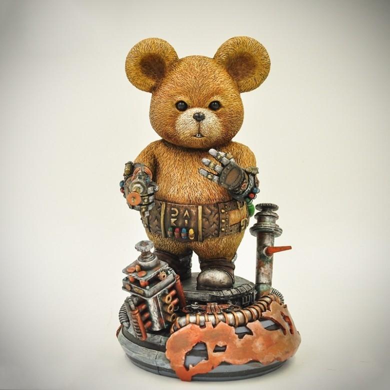 STEAMARTS·DAKI熊艺术手办