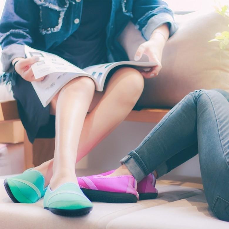 FITKICKS·女士保暖系列超轻弹力鞋·4色选