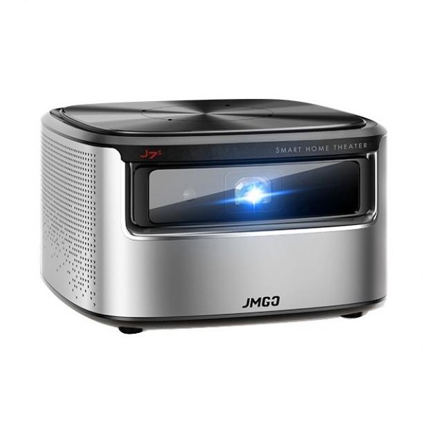 JMGO坚果·J7S投影仪 家用1080P高清小型投墙AI语音智能家庭影院无线WIFI投影机