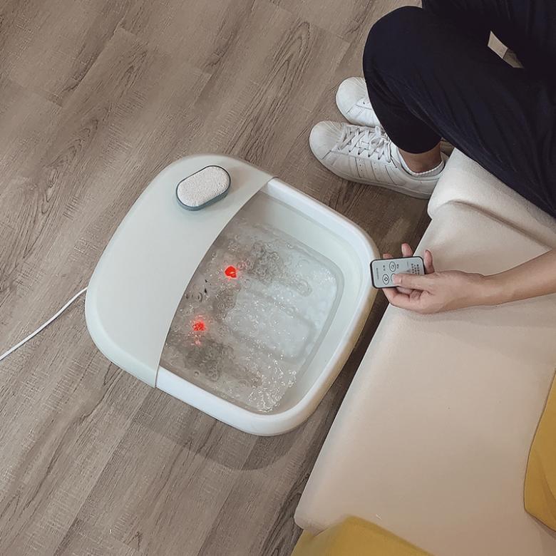 瑞典nathome ·2019新款北欧欧慕可折叠按摩足浴盆NZY755·3款选