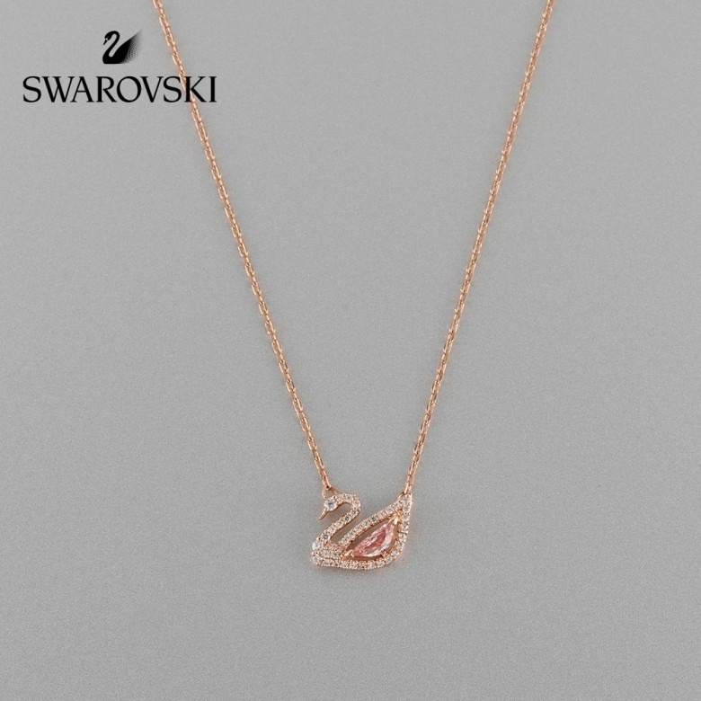 奥地利SWAROVSKI·施华洛世奇DAZZLING SWAN  清雅天鹅5469989 时尚迷人 女项链