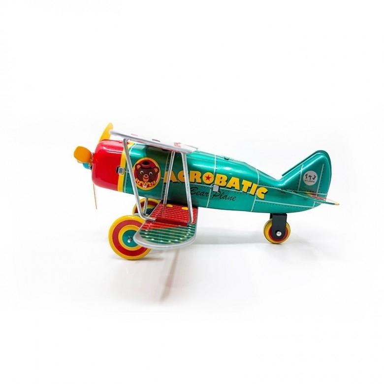 SAINT JOHN·复古玩具小熊杂技飞机