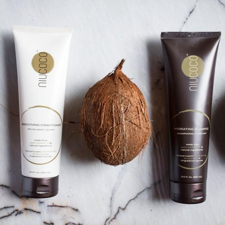 加拿大NIUCOCO·天然椰子基础滋养家庭护理洗发护发套装