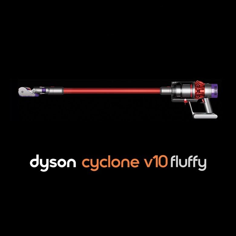 国行Dyson戴森·cyclone v10 fluffy无绳吸尘器