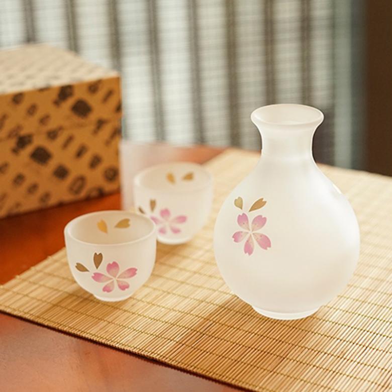 日本广田硝子 · 鹿子公主系列酒器套组