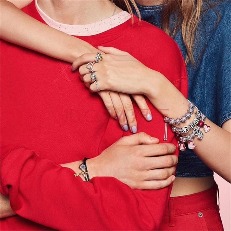 丹麦Pandora·潘多拉心心相印手链套装·3款选