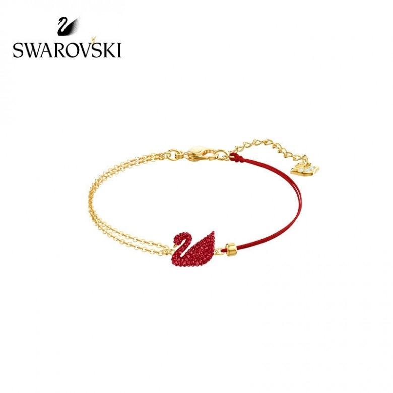 奥地利SWAROVSKI·红天鹅手链5465403