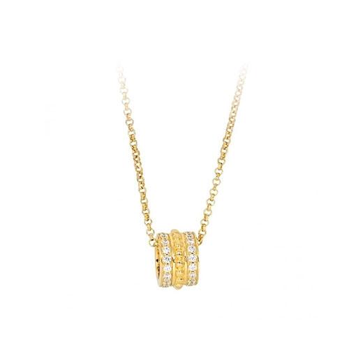 摩纳哥APM Monaco·925银 时尚气质单圈圆环项链AC4623OXY