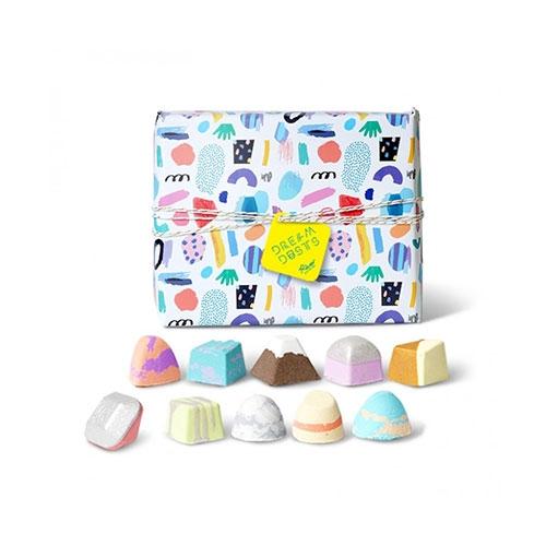Rever·巧克力转转浴爆足浴包10颗礼盒装(送便携足浴桶)